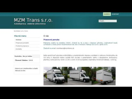 www.mzmtrans.sk