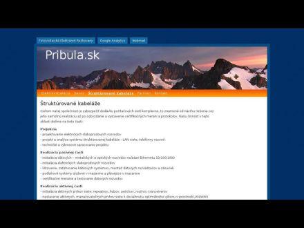 www.pribula.sk