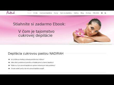 www.cukrovadepilacia.sk