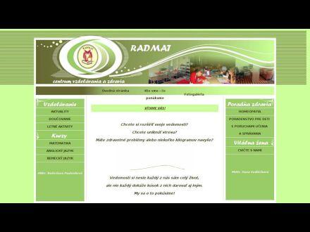 www.radmat.sk