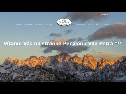 www.vilapetra.sk