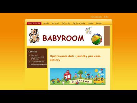 www.babyroom.sk