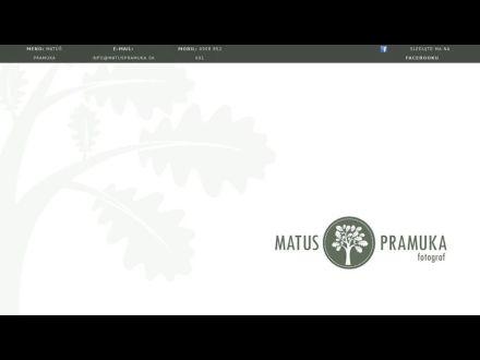 www.matuspramuka.sk