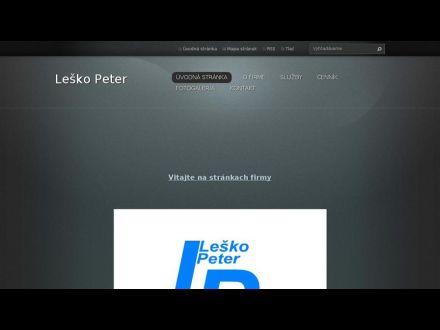 www.lesko-peter.webnode.sk