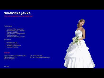www.svadobkajanka.sk