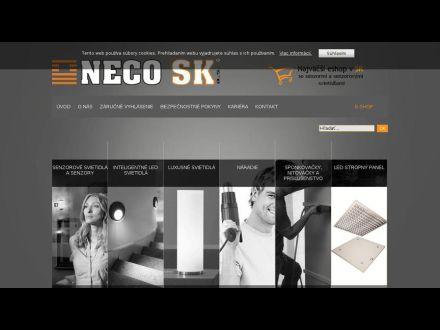 www.neco.sk