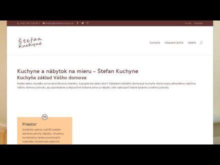 www.stefankuchyne.sk