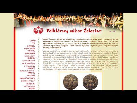 www.zeleziar.sk