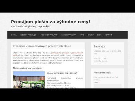 www.prenajomplosiny.com