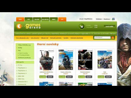 www.gamesarena.cz