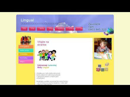 www.lingual.sk