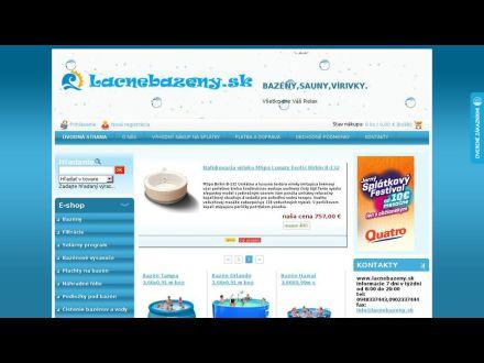 www.lacnebazeny.sk