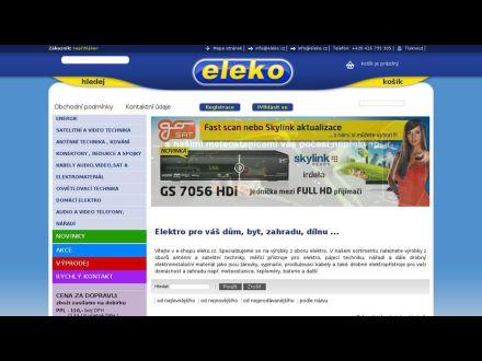 www.eleko.cz