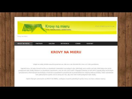 www.krovynamieru.sk