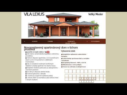 www.vilalexus.sk
