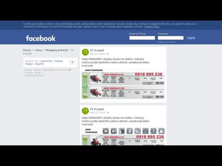 www.facebook.com/zahradnickepotreby