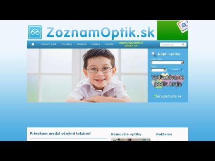 www.zoznamoptik.sk