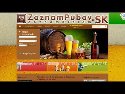 www.zoznampubov.sk