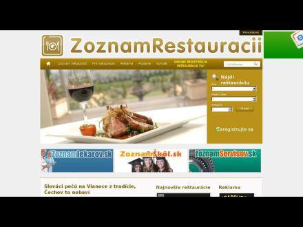 www.zoznamrestauracii.sk