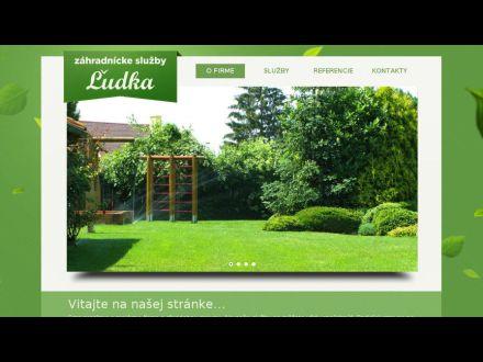 www.zahradnickesluzby-ludka.sk