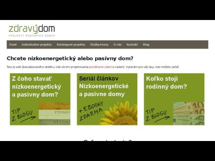 www.zdravydom.sk