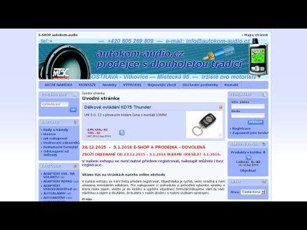 www.autokom-audio.cz