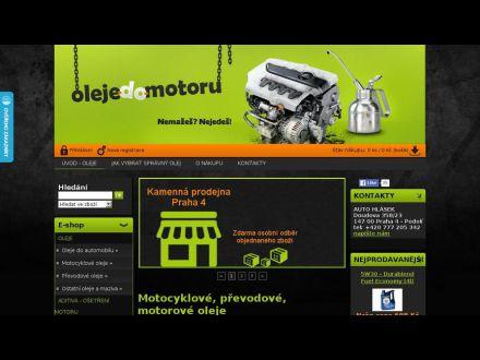 www.oleje-do-motoru.cz