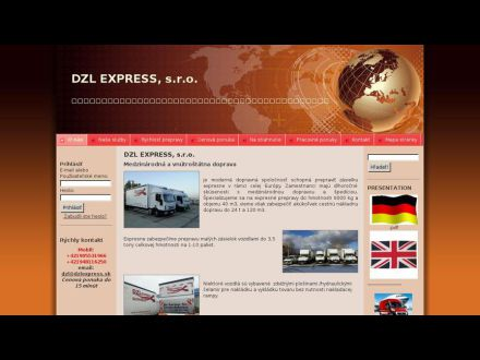 www.dzlexpress.sk