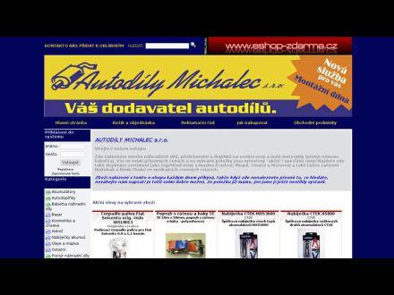 www.autodilymichalec.eshop-zdarma.cz