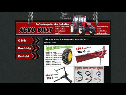 www.agrobilly.sk
