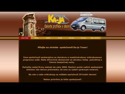 www.kajatrans.eu