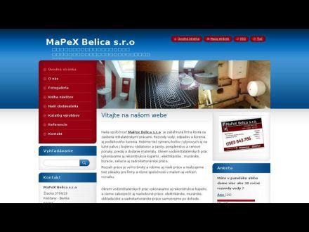 www.mapexbelica.sk