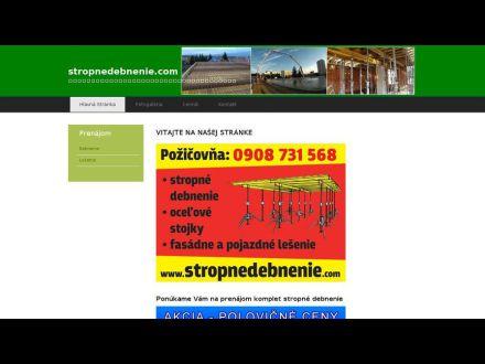www.stropnedebnenie.com