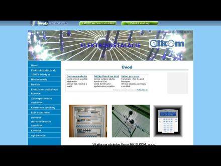 www.elkom.wbl.sk