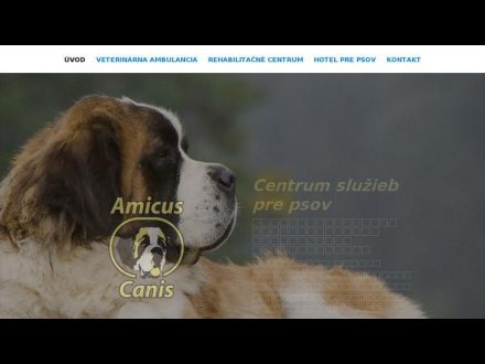 www.amicuscanis.sk