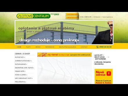 www.plotovecentrum.sk