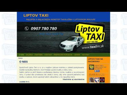 www.liptovtaxi.sk