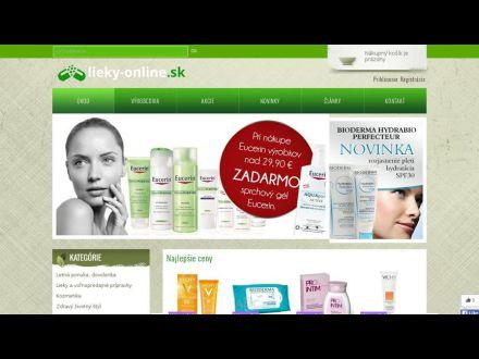 www.lieky-online.sk