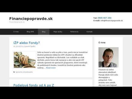 www.financiepopravde.sk