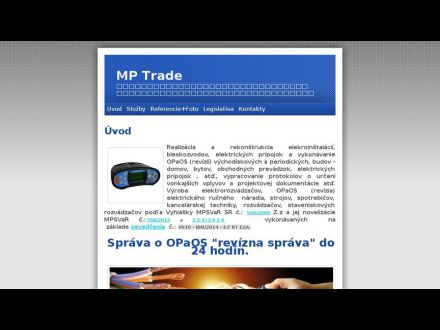www.mptrade.vlastnyweb.sk