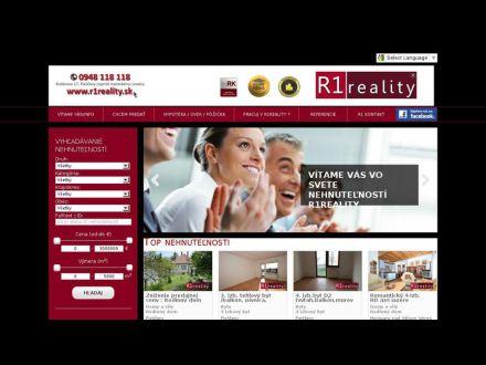 www.r1reality.sk