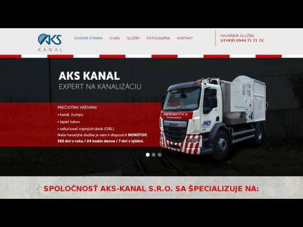 www.aks-kanal.sk