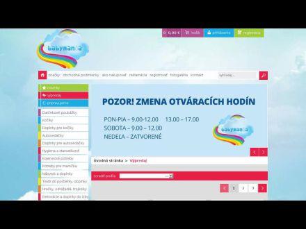 www.babymania.sk