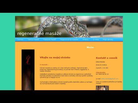 www.regeneracnemasaze-eywa.sk