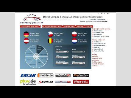 www.dovozovy-portal.sk