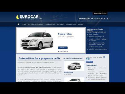 www.eurocar.sk