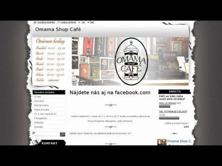 www.omamashopcafe.sk