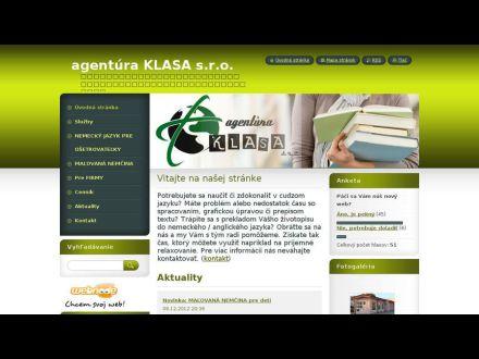 www.agentura-klasa.webnode.sk