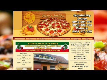 www.pizzaubabicky.sk