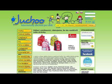 www.juchoo.sk